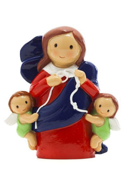 "3.5"" Lady Undoer of Knots- LI11255"