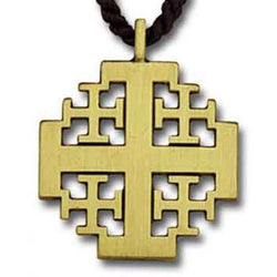 New Jerusalem Cross Pendant - XWM30