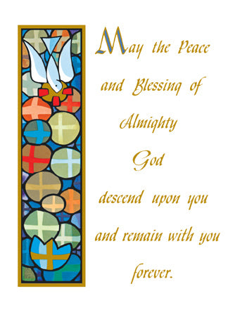 Peace of God Mass Cards FQMC022