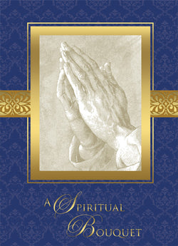 A Spiritual Bouquet Mass Cards - FQME595