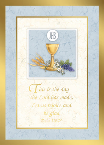 Psalm 118:24 Mass Cards FQME846