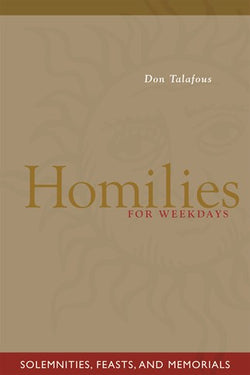 Homilies For Weekdays - NN1871