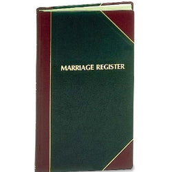Church Register Books - Standard Edition-Three Editions Available