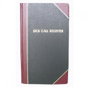 Sick Call Register - Standard Size - OA188