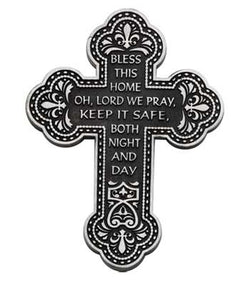 Bless This Home Wall Cross- GEPMC107