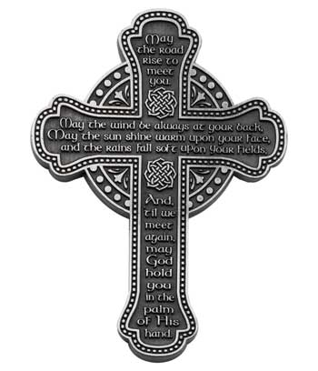 Irish Message Wall Cross- GEPMC111