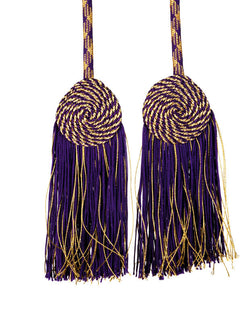 Purple/Gold Priest Tassel Cincture - VL9002