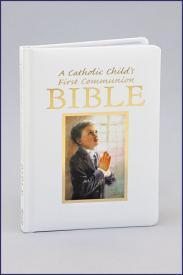 A Catholic Child's First Communion Bible-GFRG1400130