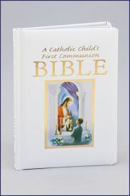 A Catholic Child's First Communion Bible-GFRG1400140