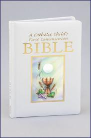 A Catholic Child's First Communion Bible-GFRG1400155