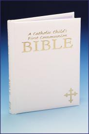A Catholic Child's First Communion Bible-GFRG1400296