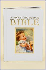 A Catholic Child's Baptismal Bible-GFRG14102