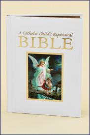 A Catholic Child's Baptismal Bible-GFRG14103