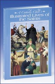 A Catholic Child's Illustrated Lives of the Saints-GFRG14290