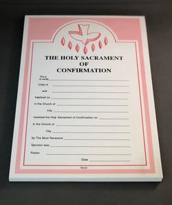 Confirmation Certificates-RUC2