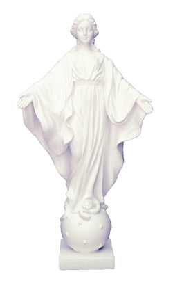 Our Lady of the Smiles White Statue - ZWSR75217W