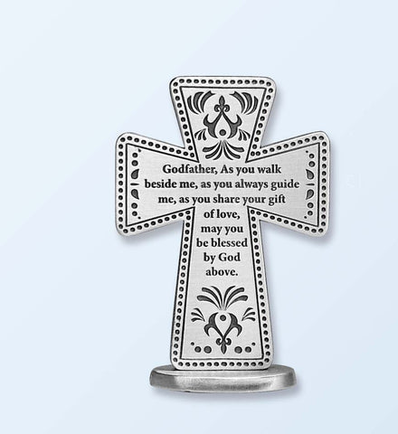 Godfather Standing Message Cross- GESQP125
