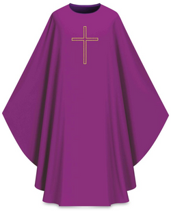 ASSISI Chasuble (purple) - WN701024