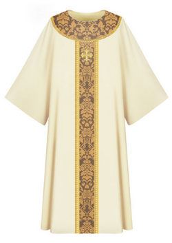 Dalmatic - White - WN7-3358
