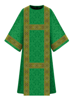 Dalmatic - Green - WN7-5290