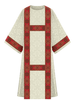 Dalmatic - White - WN7-5290