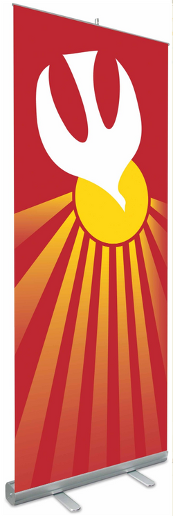 Roll-Up Banners Pentecost, Holy Spirit - WN7315