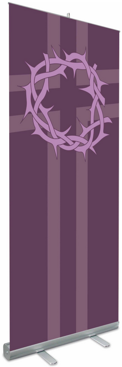 Roll-Up Banners Lent, Crown of Thorns - WN7317