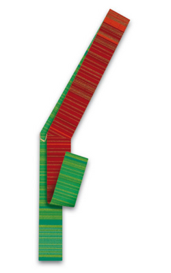 Deacon Stole - Red/Green - WN34-19R