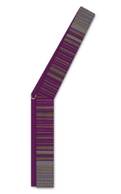 Deacon Stole - Purple - WN34-19