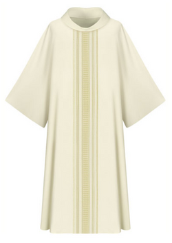 Dalmatic - White - WN7-3111