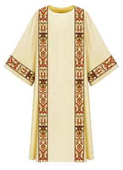 Dalmatic - White - WN7-2749