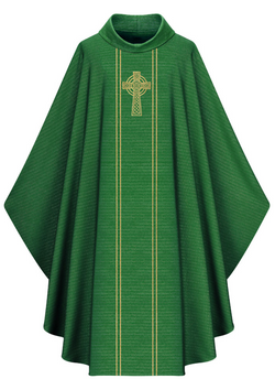 Gothic Chasuble - Green - WN5195