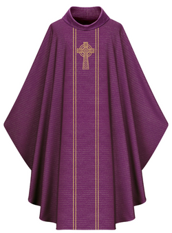 Gothic Chasuble - Purple - WN5195