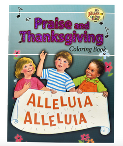 Coloring Book about Thanksgiving and Praise - GF684