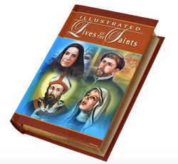 Illustrated Lives Of The Saints - GF86022