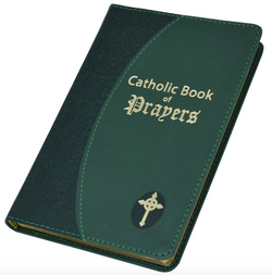 Catholic Book of Prayer Imitation Leather Green - GF91019GN