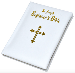St. Joseph Beginner's Bible White - GF15513W