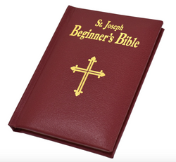 St. Joseph Beginner's Bible Burgundy - GF15513BG