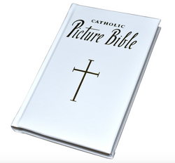 New Catholic Picture Bible (Leather)