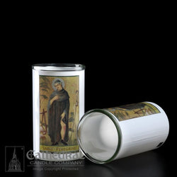 Patron Saint Glass 3 Day Globes - St. Peregrine