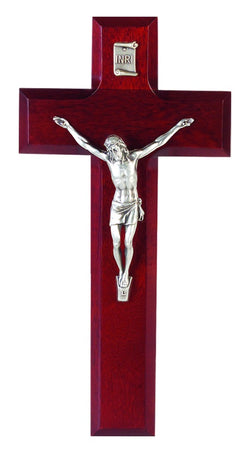 "8"" Dark Cherry Crucifix - TA11A8R1"