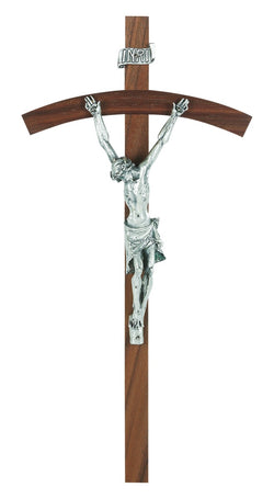 "10"" Genuine Walnut Crucifix - TA86A10W3"