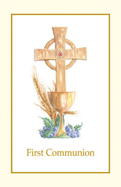 First Communion Bulletin - FQTB103