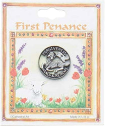 First Penance Lapel Pin - GETT028