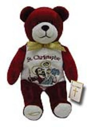 Saint Christopher Holy Bear - TXCHRIS