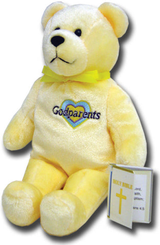 Yellow Godparents Holy Bear - TXGODP56