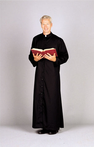 Adult Servers and Priest Cassocks with Button Front UT217U