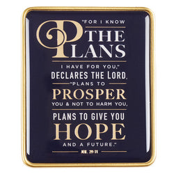 For I Know the Plans Visor Clip - GCVCL002
