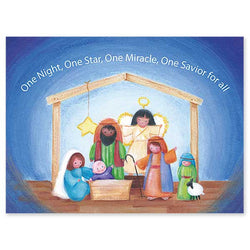 One Night, One Star Christmas Cards PNWCA3279