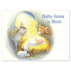 Baby Jesus is Born Christmas Cards PNWCA3293
